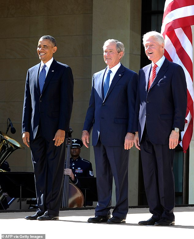 Former Presidents Barack Obama, George W. Bush and Bill Clinton will join Biden in a display of bipartisanship and to show case the inauguration theme of 'America United'