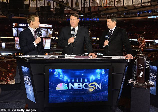 NHL analyst Mike Milbury is OUT at NBC five months after making an 'insulting' on-air joke