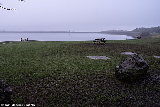 Jessica told how they were surrounded by police when they arrived in separate vehicles at Foremark Reservoir in Derbyshire on Wednesday and 'assumed there had been a murder'