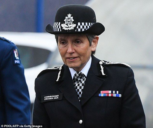 Met Police chief Dame Cressida Dick said it is 'preposterous' people could be unaware of the need to follow the third national lockdown and warned that rule-breakers will be fined