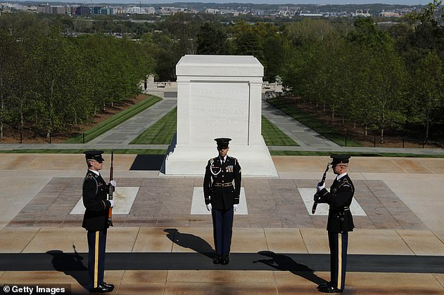 The presidents and first ladies will come together at the Tomb of the Unknown in Arlington National Cemetery in a show of unity