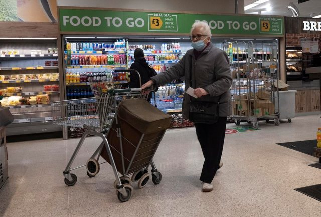 Supermarkets have been urged to ensure all customers are following the rules and wearing their face coverings correctly