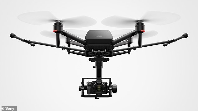 Airpeak is said to be the industry's smallest class of drone equipped with Sony's Alpha mirrorless camera system