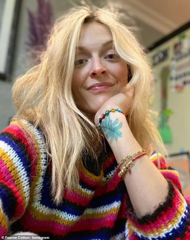 Honest:Fearne Cotton has spoken about her depression in a frank interview with Angela Scanlon's podcast, Thanks A Million