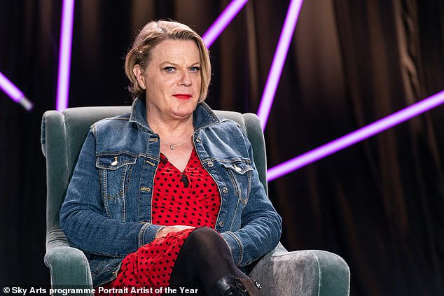 Eddie Izzard claims the notion she 'recently came out is ridiculous'