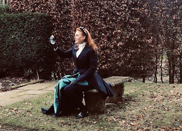 Sarah Ferguson (pictured), 61, told how she 'invented a history' for Lady Margaret Montagu Douglas Scott that 'incorporated real people and events'
