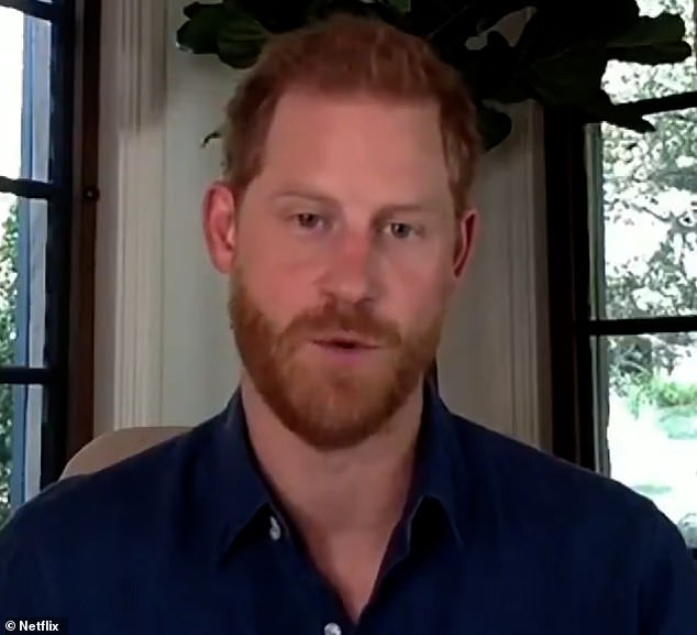 Unlikely?  The 36-year-old Duke of Sussex appeared in a Netflix promotional video released the first week of December in which he was seen modeling his signature short hairstyle.