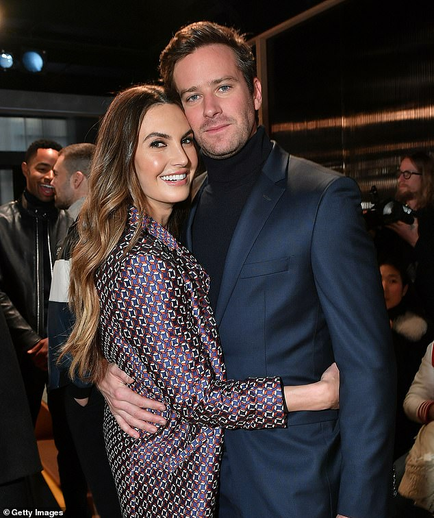 Armie Hammer's wife is 'shocked and sickened' by actor's 'kinks'