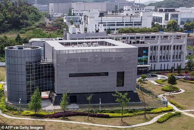 Pictured: The Wuhan Institute of Virology