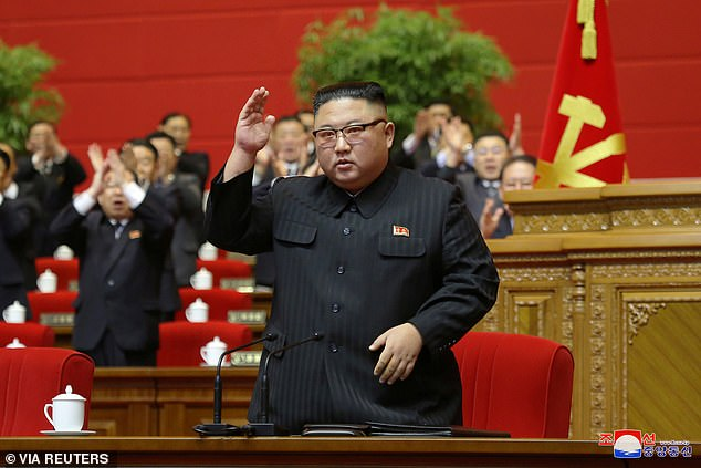 North Korean leader Kim Jong Un vowed to boost his country's nuclear arsenal in his closing address to a top ruling party meeting just days before Joe Biden takes office as US president