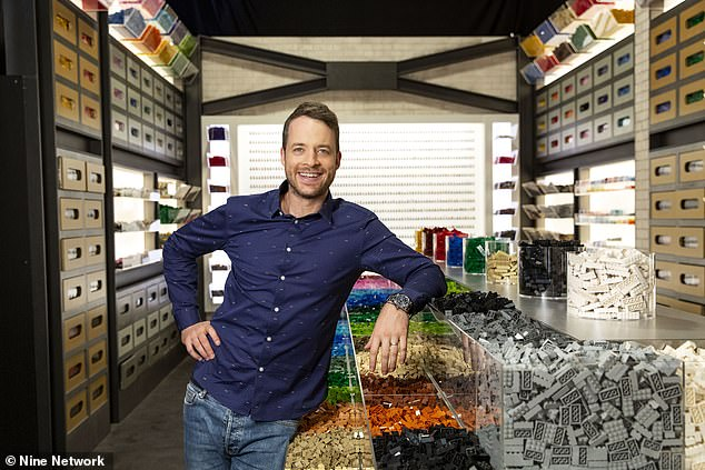 Hamish Blake is spending 'a few weeks' away from his Sydney-based family due to Lego Masters