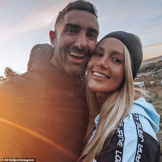 Split: It comes six months after he and Ali Oetjen, who he met on The Bachelorette in 2018, announced their split on back in July.Ali told her Instagram followers: ' We... both want the ultimate happiness for each other and hopefully our paths will reconnect again soon