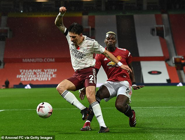 He assisted against RB Leipzig but fouled Hector Bellerin in an abject display against Arsenal