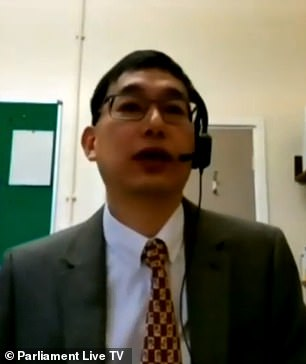 Dr Wei Shen Lim, chair of Covid-19 vaccination at the Joint Committee on Vaccination and Immunisation