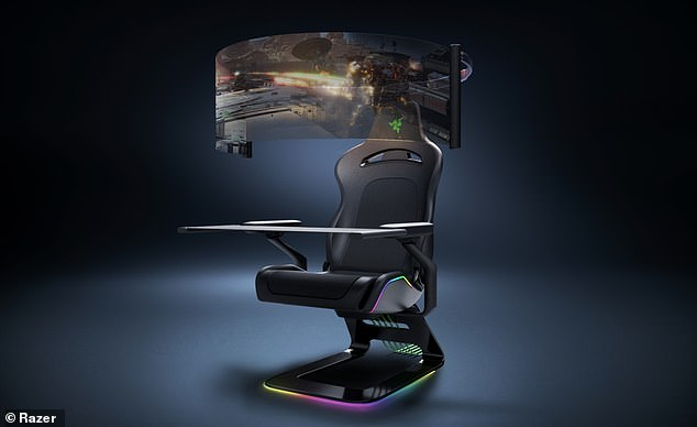 Project Brooklyn, which many say is only a pipe dream, immerses users in the game with haptic feedback throughout the chair's frame and a panoramic screen