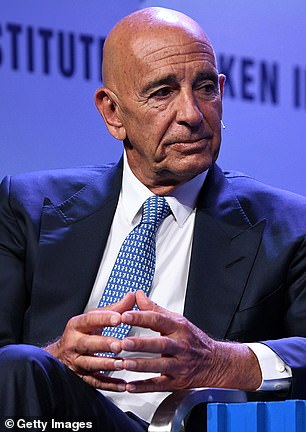 In November, Trump's business-titan friend Thomas Barrack called him and urged him to accept the election result for the sake of the Trump brand but he ignored him, it has been claimed