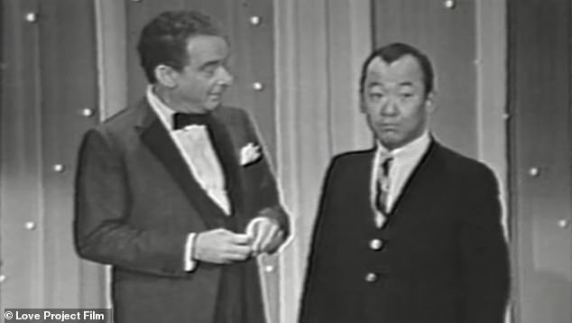 Back in the day:There were several clips shown from early on in his career including talk show appearances for his stand-up comedy career