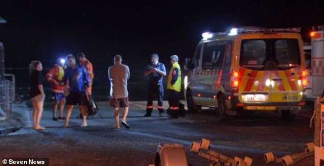 Paramedics responded to a 15-year-old boy who accidentally shot himself in the foot with a spear gunnear Townsend Bluff in the seaside town of Inverloch in Gippsland, Victoria at 11:05pm on Wednesday