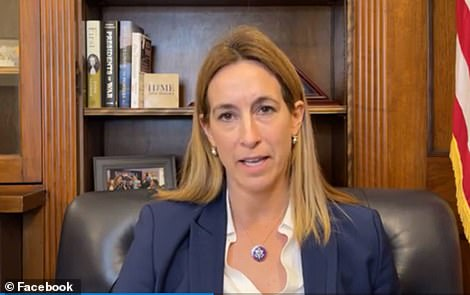 Rep. Mikie Sherrill said Tuesday she saw lawmakers giving tours she perceived to be 'a reconnaissance to groups Tuesday, January 5