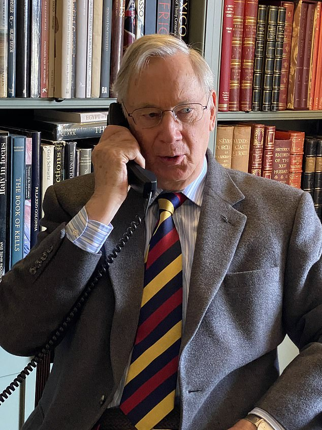 While many of us lounge around in pyjamas, the Duke of Gloucester is keeping up sartorial standards during lockdown