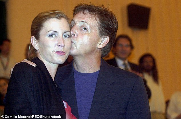 Not to be: Paul and Heather share daughter Beatrice, 17 (pictured in 2001)
