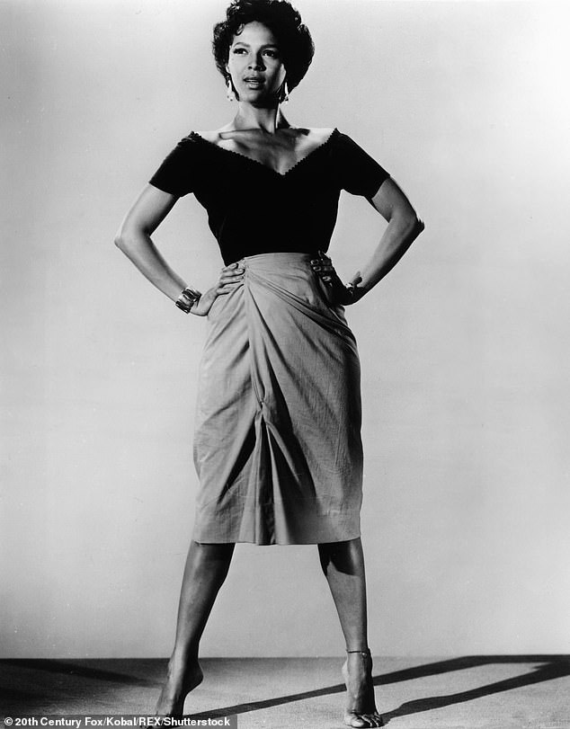 Oscar nominee: Dorothy Dandridge, shown playing the title role of Carmen Jones in the 1954 film adaptation, also influenced Berry who later portrayed the Oscar-nominated actress in a biopic