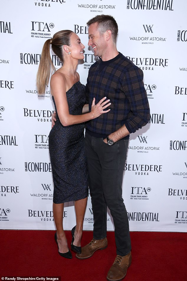 Upset:In an exclusive interview with DailyMail.com on Tuesday, a close friend of Hammer's estranged wife Elizabeth Chambers said the actor's former spouse is ''shocked and sickened' by the messages