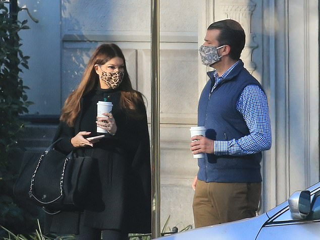 Donald Trump Jr. and his girlfriend Kimberly Guilfoyle are rumored to be moving to Florida. Don. Jr and girlfriend Kimberley Guilfoyle leave their New York City apartment on Tuesday