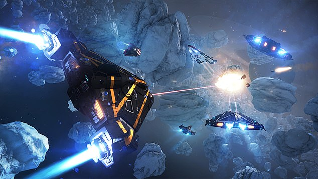 Its Elite Dangerous franchise has raked in more than £100million since its launch in 2014, and sees 'commanders' roam the Milky Way in spaceflight simulation