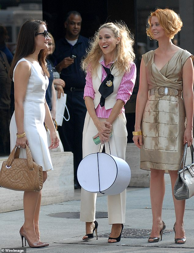 Update: Parker is reuniting with original co-stars Kristin Davis as Charlotte and Cynthia Nixon as Miranda for the HBO Max series which promises to shed light on how the trio are continuing to navigate love and friendship in the Big Apple now that they are in their 50s