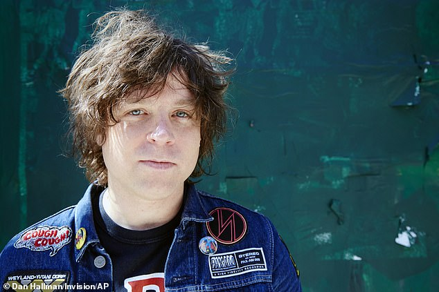 Cleared:Ryan Adams has reportedly been cleared of 'sexting' an underage female fan, following a recent FBI investigation; Adams pictured in 2015