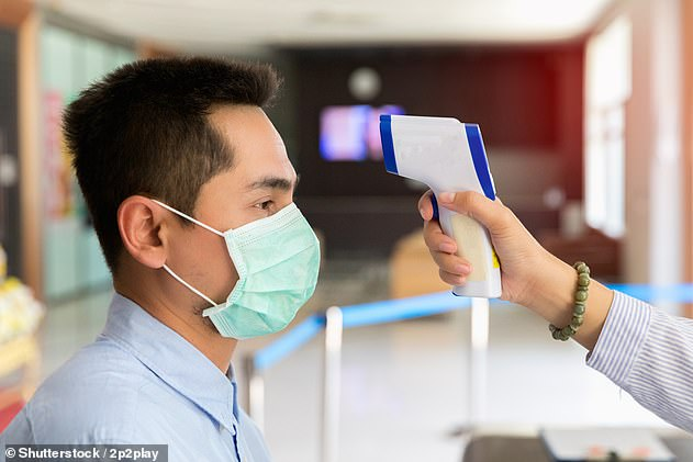 Infrared scanners are ineffective as a screening tool for Covid-19 and have done very little to prevent the spread of the disease, experts said previously (file)