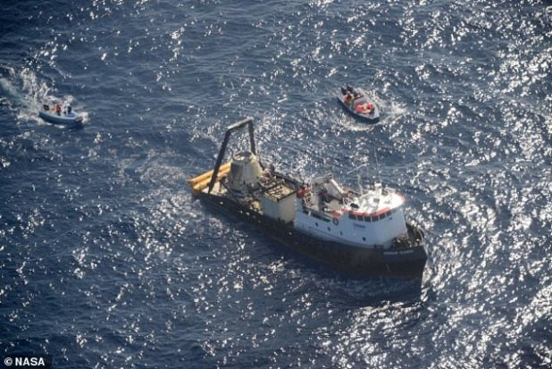 There is much involved in getting scientists back into science experiments, this includes shipping via boat, helicopter and car