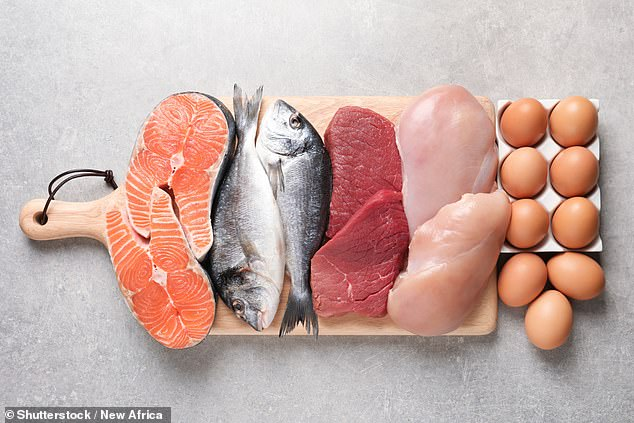 A diet low in serine, an amino acid in meat, fish and eggs (pictured) — taken in tandem with drugs to stop its production — may provide a new approach to cancer treatment