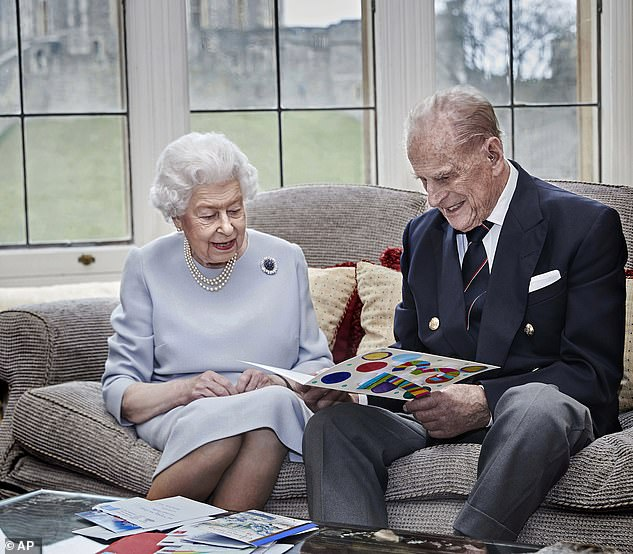 Health: The Queen, 94, and Prince Philip, 99, also received the Covid-19 vaccine this weekend at Windsor Castle, Buckingham Palace