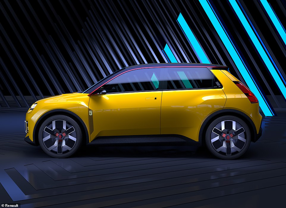 Who said electric cars couldn't be exciting? While Renault has teased motoring fanatics by showcasing the prototype, it has yet to reveal any performance figures for the forthcoming plug-in supermini