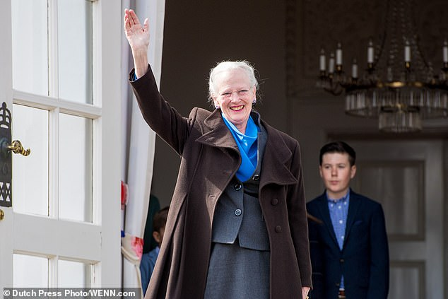Queen Margrethe of Denmark, 80, was the first royal to receive the Covid-19 vaccine and was inoculated on New Year's Day
