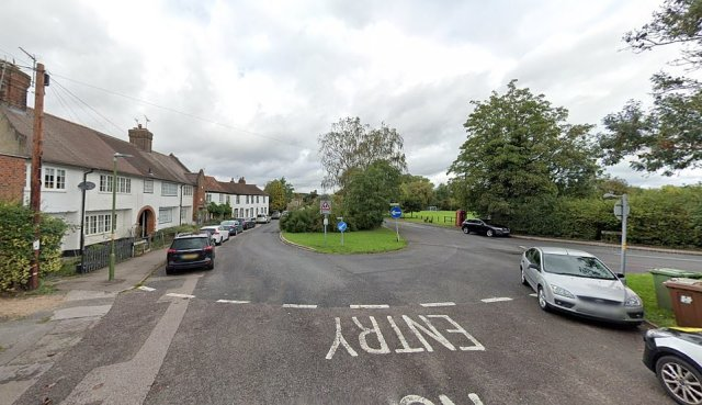 Police also broke up a gathering of up to 100 people in Blanche Lane, in the Hertfordshire village of South Mimms, last night