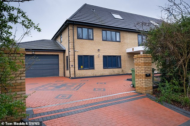 The entrance gates to the property were also found to be wider than approved and there was deviation from the materials, size and position of doors and windows