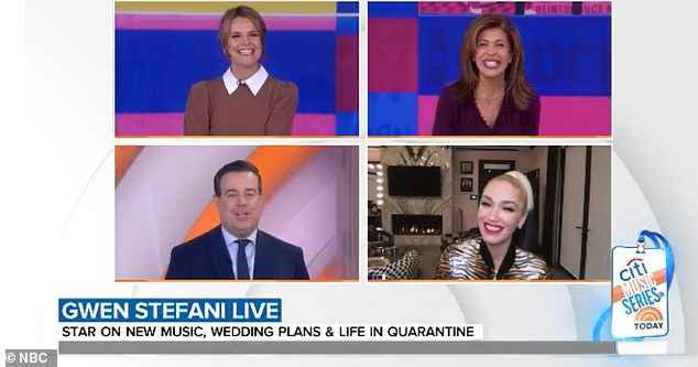 Whoops! Elsewhere in the interview, Today co-host Carson Daly admitted that he once had a chat with Gwen and Blake in which he urged the two to reconsider dating