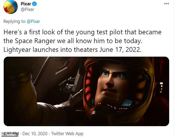 Off he goes:Meanwhile, Evans has been keeping busy as he was recently announced to voice iconic Disney character Buzz Lightyear in an origin story film titled Lightyear set for release sometime next year