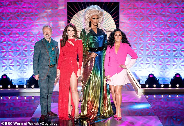 Bring it to the runway! It comes after judges Michelle Visage, Graham Norton and Alan Carr gushed over how 'fun' Elizabeth was as a guest judge