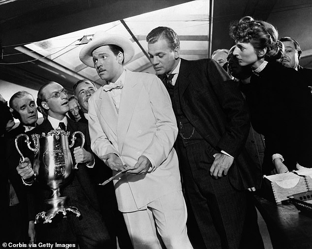 Their relationship inspired perhaps the most celebrated film ever made, Citizen Kane, which on its release in 1941 marked the movie debut of prodigy Orson Welles, who co-wrote, directed and starred in it aged just 26