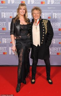 Rod Stewart reveals wife Penny Lancaster threw a pair of MEN'S PANTS at him while he performed