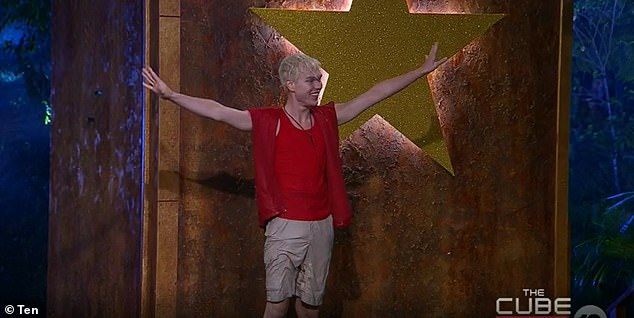 Coming soon:I'm A Celebrity... Get Me Out of Here! continues Monday at 7.30pm on 10. Pictured: Jack Vidgen who was eliminated Sunday night