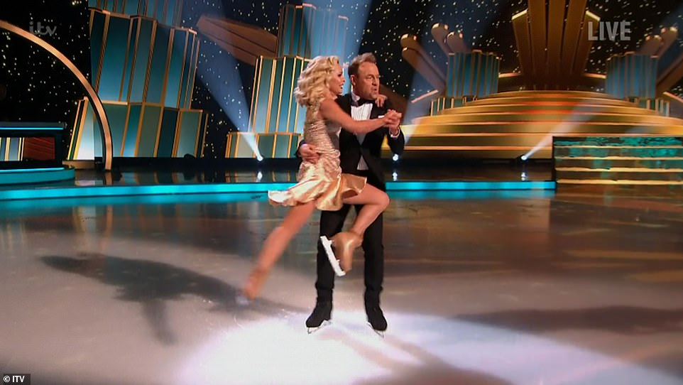 What a way to start! Jason Donovan and his pro partner Alexandra set the standards high for the season