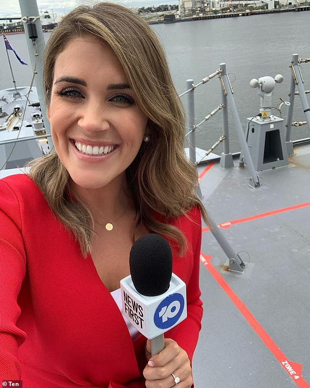 Gone! A Channel 10 spokesperson confirmed on Saturday that Georgia no longer worked for the network