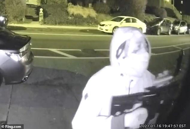 Doorbell video captures two killers fatally shooting man answering door of Staten Island rap studio