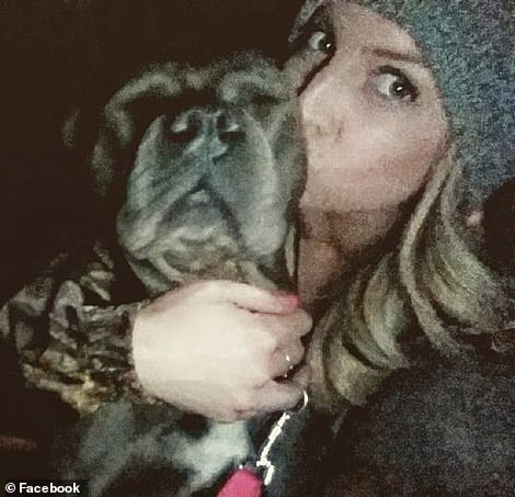 Goodwin's friends said she would never ordinarily leave her beloved dog alone in her home