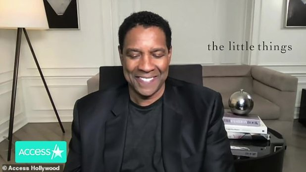 After hearing John David's praise, Denzel told the same outlet: 'Wow.  I am speechless  I forgot what the question was but I'm speechless.  You know, I don't know that he said '
